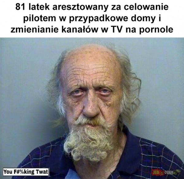 Aresztowany 81latek