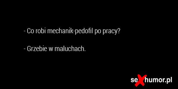 Mechanik pedofil