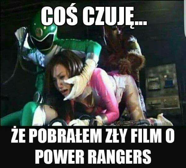 Zły film o Power Rangers