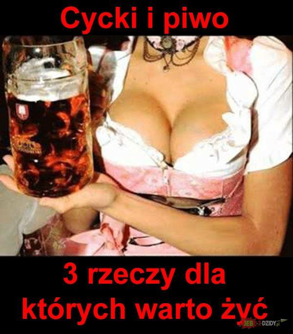 Cycki i piwo