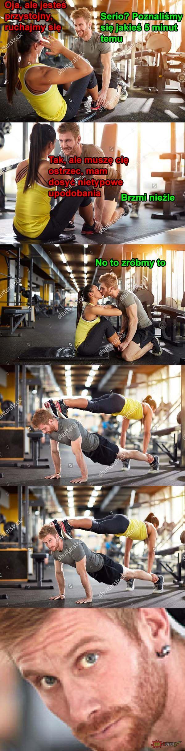 Ruchanie na siłowni