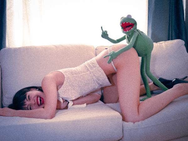 Szczęśliwy Kermit