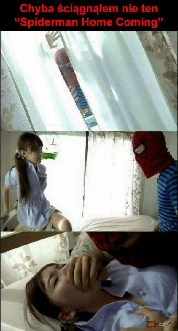 Nie ten Spiderman Homecoming