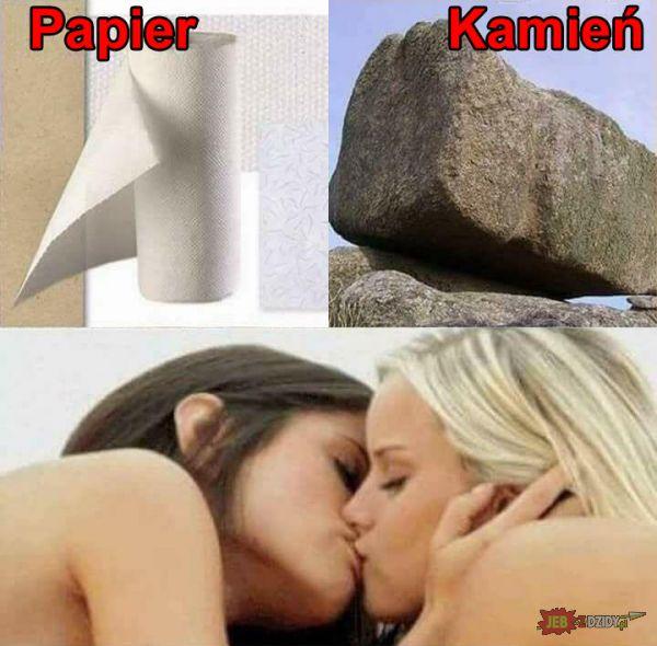 Papier, kamień, ...