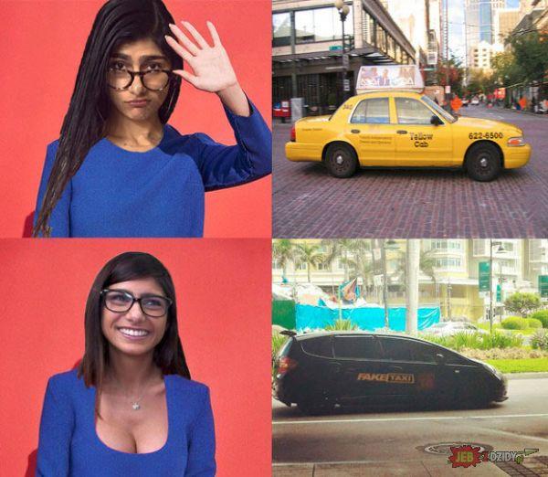 Wybór taksówki