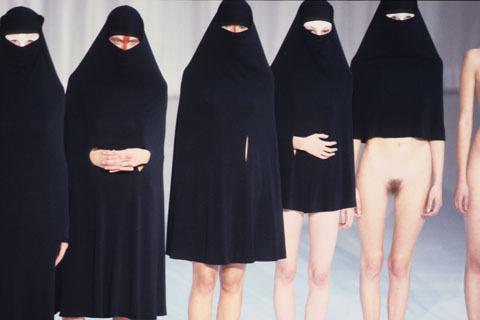 Ewolucja muzułmańskich kobiecych strojów