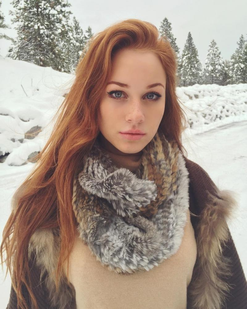 Zimowy rudzielec