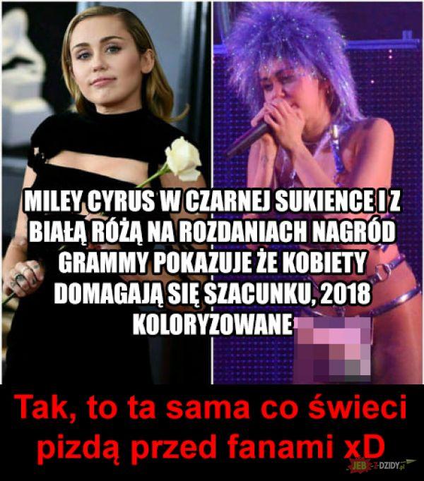 Hipokryzja Miley Cyrus