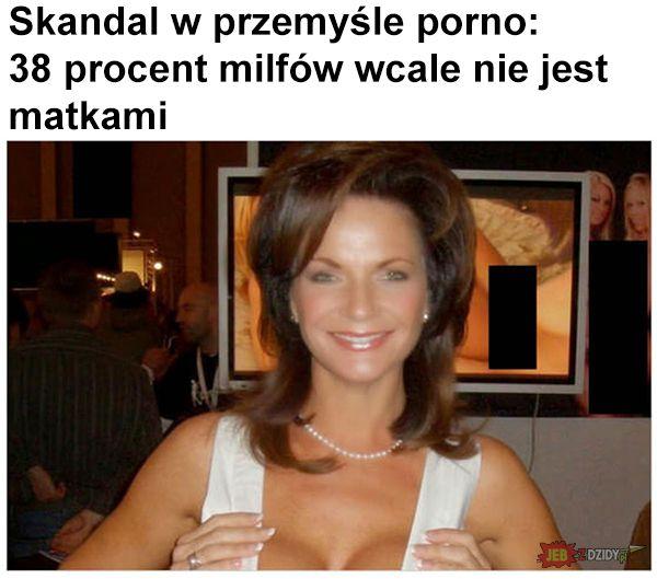 Skandal w przemyśle porno