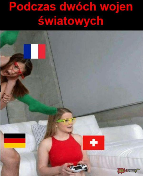 Podczas dwóch wojen światowych