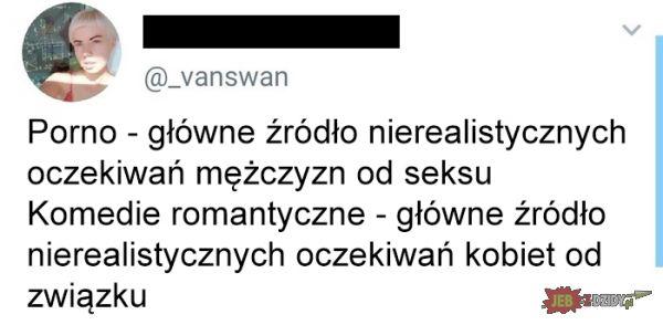 Porno VS komedie romantyczne