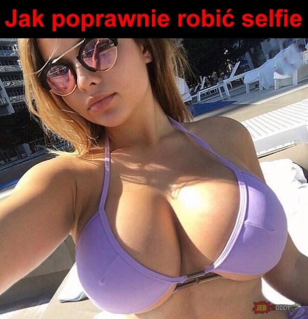 Jak poprawnie robić selfie