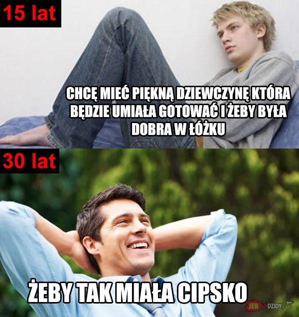 15 lat vs 30 lat