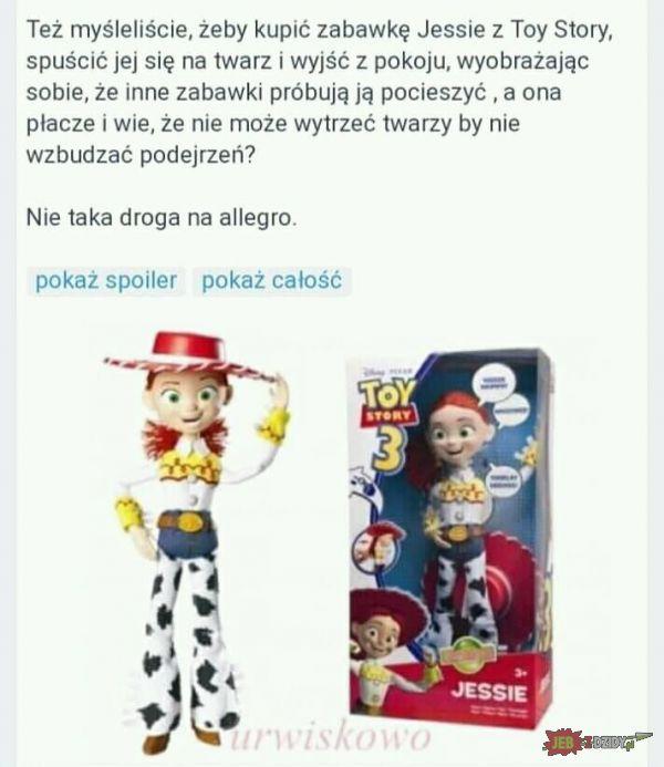 Pomysłowy fan Toy Story