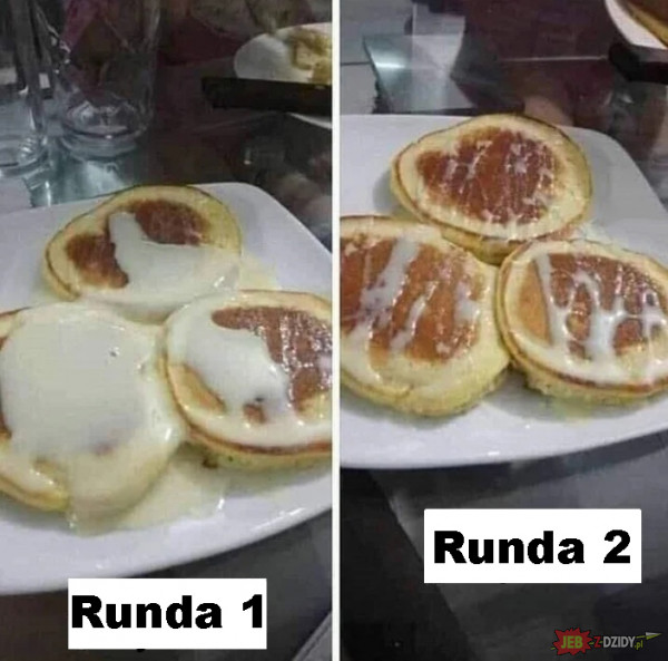 Runda 1 vs runda 2