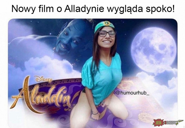Nowy film o Aladynie