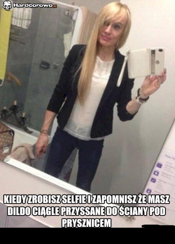 Selfie z dildo