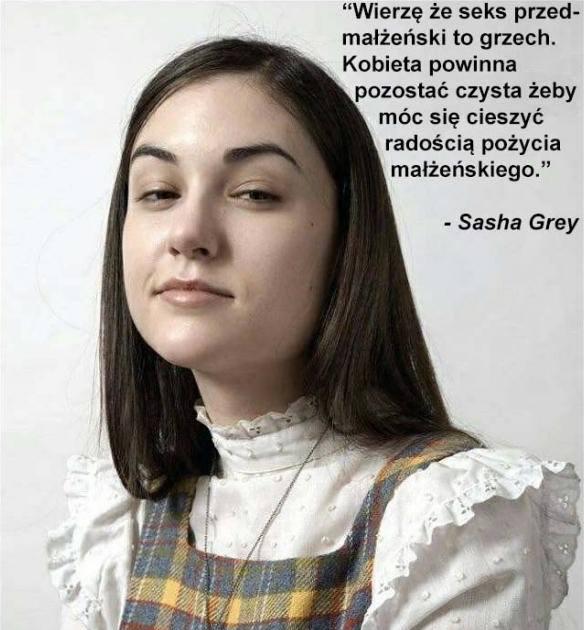 Sasha o seksie przedmałżeńskim