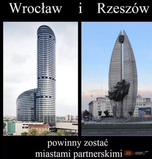 Wrocław i Rzeszów