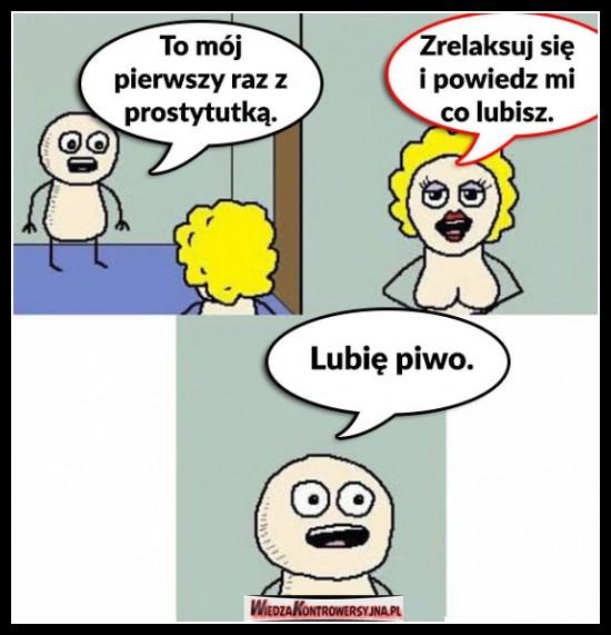 Pierwszy raz z prostytutką